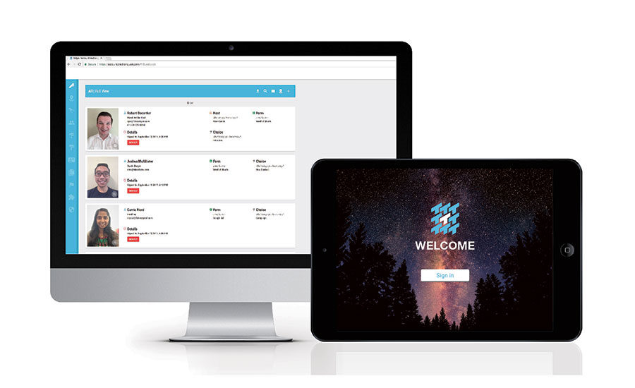 tractionguest vms, visitor management system