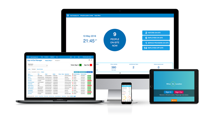whosonlocation vms, visitor management system