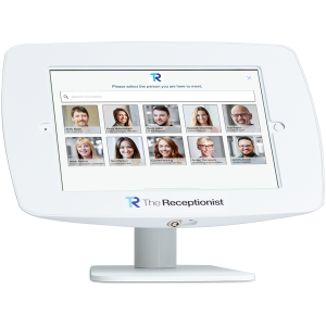 thereceptionist vms, visitor management system